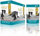 Burns Dog Food Moist Penlan Chicken, Brown Rice and Vegetables for Dogs of all Ages 6 x 400 g Pouches