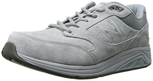 New Balance Men's 928v3 Walking Shoe, Grey/White, 12 4E US