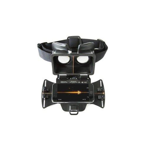 """Freefly VR FREEFLY-GLIDE COMBO - Gafas de vídeo virtual compatible con dispositivos móviles (para pantalla de 4.7"""" a 6.1"""") color negro"""