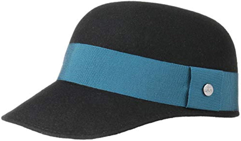Lierys Feltro Berretto di Feltro Lierys da Donna by Made in Cappellino  Cappello Invernale con Visiera b3165f6c7413