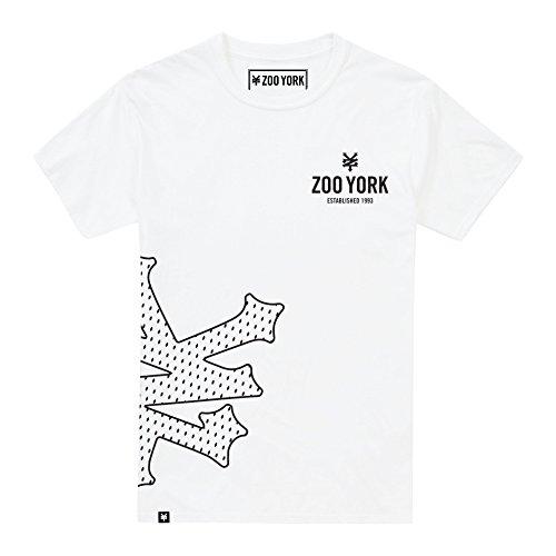 Zoo York Herren CORE T-Shirt, Wei (White WHT), M Zoo York-core