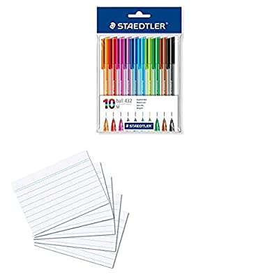 Staedtler Retractable Rainbow Ballpoint Pen - Assorted Colour : everything £5 (or less!)
