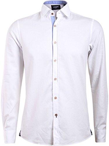 Preisvergleich Produktbild Joop! Herren Business Hemd Hanson - Modern Fit - Weiß, Größe:XXL;Farbe:Weiß (100)