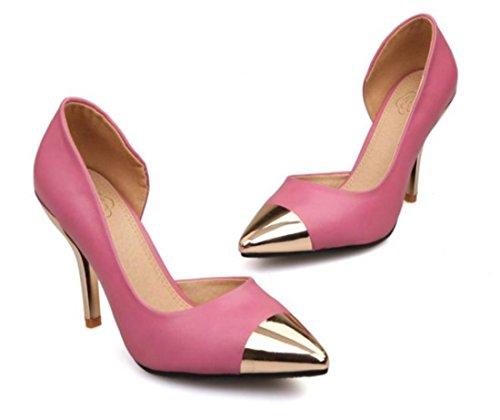 ... Chaussures à talons compensés YCMDM peach red ...