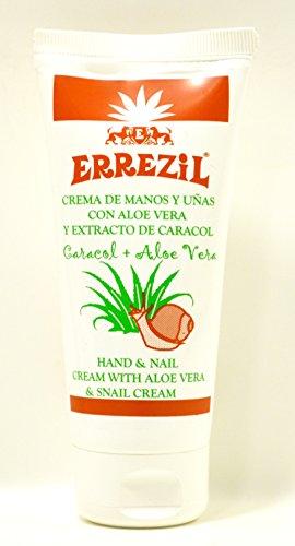 Errezil Aloe Vera Handcreme mit Aloe Vera und Schneckensekret 100ml
