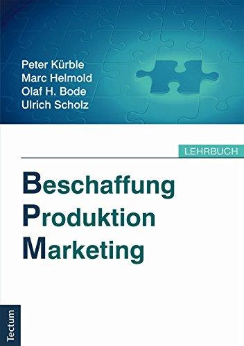 Beschaffung, Produktion, Marketing