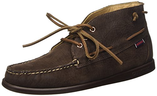 Sebago Campsides 360 Mid Scarpe Brogue Stringate, Uomo, Marrone (Dark Brown), 43