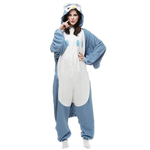 Imagen de casa onesie licorne pijamas kigurumi pijama animal unisexo para adultos con capucha traje de cosplay disfraz para festival de carnaval halloween navidad búho l