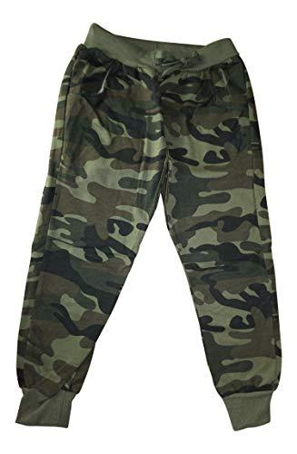 Palleon Jungen Jogginghose Camouflage Jogger Kinder Hose 6/110-116 / Mehrfarbig