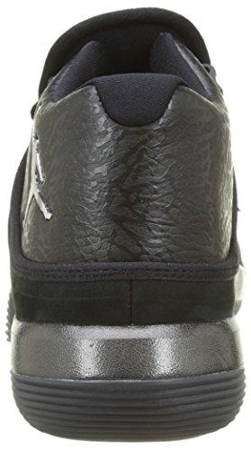 Nike Jordan Lunar Super.fly, Chaussures De Basketball Homme Noir (noir / Chrome-anthracite)