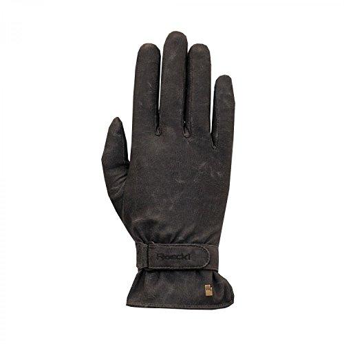 Roeckl Erwachsene Kibo Handschuhe, Schwarz/Stonewashed, 10
