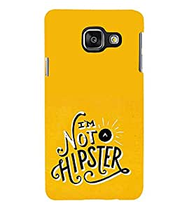 FUSON I Am Not Hipster 3D Hard Polycarbonate Designer Back Case Cover for Samsung Galaxy A5 (2015) :: Samsung Galaxy A5 Duos (2015) :: Samsung Galaxy A5 A500F A500Fu A500M A500Y A500Yz A500F1/A500K/A500S A500Fq A500F/Ds A500G/Ds A500H/Ds A500M/Ds A5000