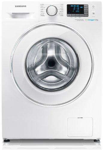 Samsung WF80F5E5W2W Libera installazione Caricamento frontale 8kg 1200RPM A+++ Bianco