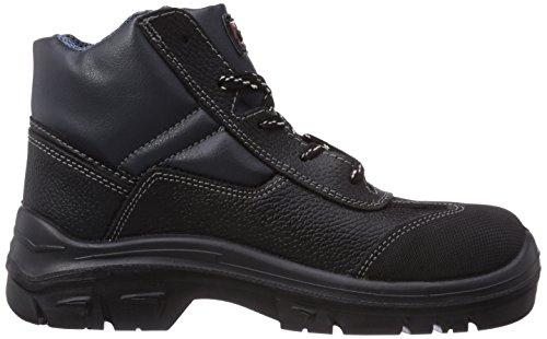 MTS Sicherheitsschuhe Cyclone S3 Flex 40102, Chaussures de sécurité mixte adulte Noir - Noir