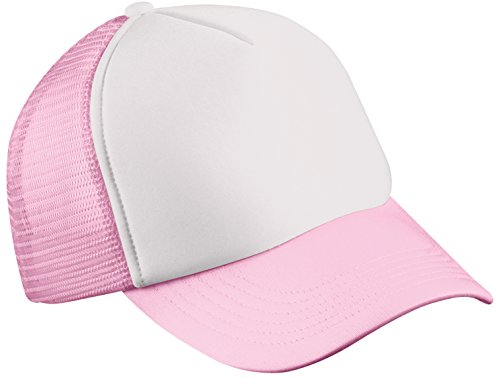 Myrtle Beach - Trucker Mesh Cap 'Classic' / white/baby pink, One Size one size,White/Baby Pink (Cap Baseball Baby)