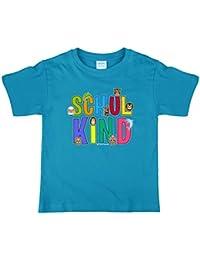 T-Shirt mit Spruch Schulkind Geschenk Schulanfang Schuleinführung Geburtstag