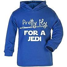 Pretty Fly para una sudadera con capucha para niños de Jedity Star Wars, novedad de
