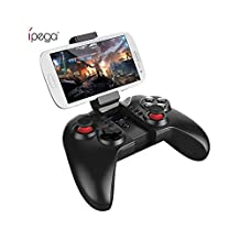 IPEGA PG-9068 Bluetooth Wireless Game Controller Gamepad for Android / iOS , Black