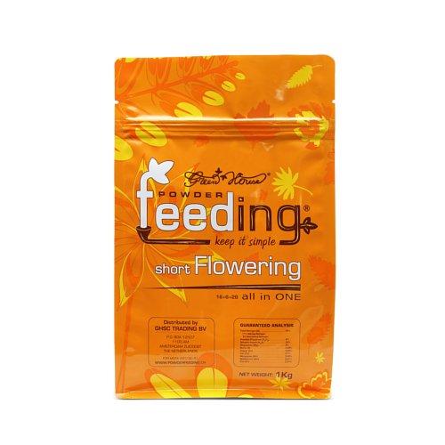 Powder Feeding SHORT Flowering 1kg - Green House