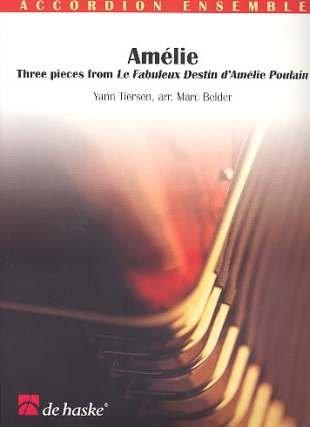 AMELIE - arrangiert für Akkordeon - Orchester [Noten/Sheetmusic] Komponist : TIERSEN YANN