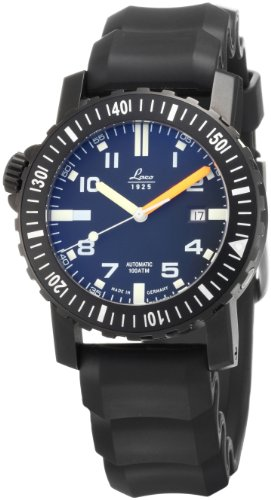 Laco Men's Automatic Watch 861703 with Rubber Strap