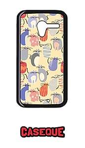Caseque Friggin Kitten Back Shell Case Cover for Moto X (1st Gen.)