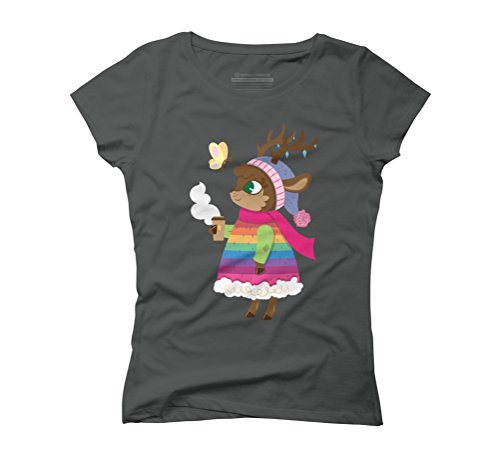 Spring is coming Women's Graphic T-Shirt - Design By Humans Anthracite