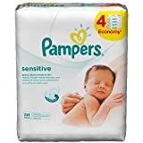 Pampers - lingettes Sensitive 4 x 56pcs