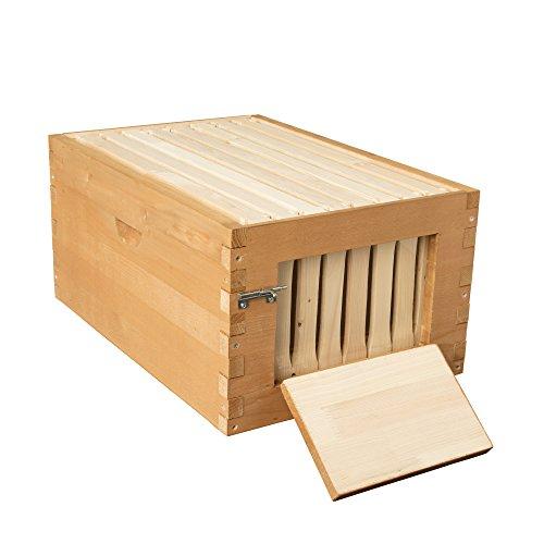 summerhawk Ranch quick-check Super, 3-Jahre Garantie–inkl. Quick Check Rahmen, Honeycomb Foundation, ideal für Backyard Bee Hive Verlängerung, Bienenzucht Ausrüstung