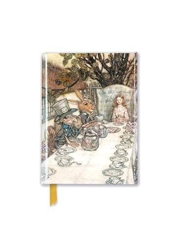 Rackham: Alice In Wonderland Tea Party (Foiled Pocket Journal) (Flame Tree Pocket Books)