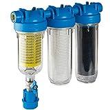 HYDRA Rainmaster TRIO RLH LA 1' Zoll Wasserfiltergehäuse plus Filter