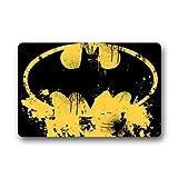 Ntpclsuits Batman Logo Custom Doormat Non-Woven Fabric Top (23.6