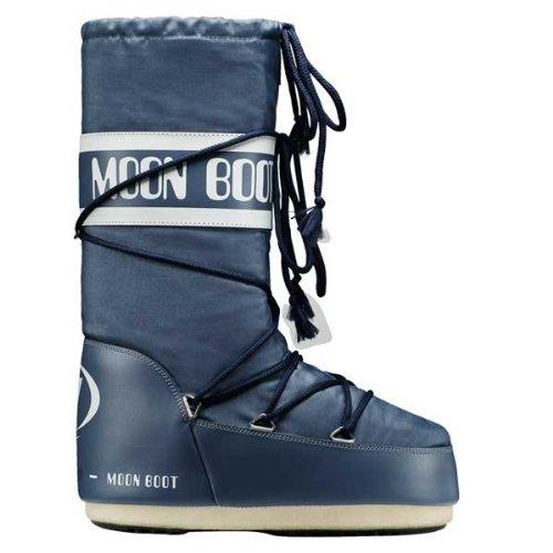 (Moon Boot by Tecnica Nylon Denim Blue, Größe:39/41)