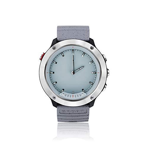 YOZOOE M5 Smart Watch, Sport Smartwatch mit transparentem Bildschirm / 5ATM Wasserdicht/Activity Tracker Schrittzähler/Herzfrequenz- und Schlafmonitor Vergleich mit iOS und Android