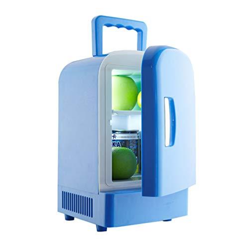 Tellgoy Nevera para automóvil 4L, Mini refrigerador, portátil, silenciador, Calentador eléctrico, 12V...