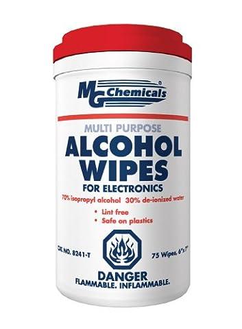 MG Chemicals Multi Purpose Alcohol Wipe (70% IPA), 7