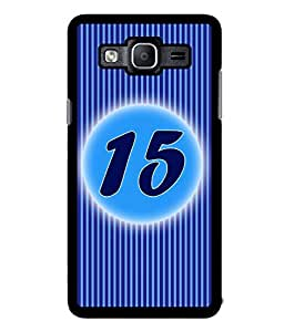 Fuson 2D Printed Numerology Designer back case cover for Samsung Galaxy On5 - D4233