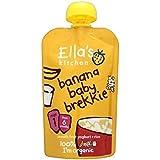 Cuisine Banane Bébé De Petit Déj 'Ella De L'Étape 1 À Partir De 6 Mois 100G - Lot De 2