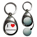 Best BadgeBeast Golf Ball Markers - I Love Heart Kangaroos - Golf Ball Marker Review