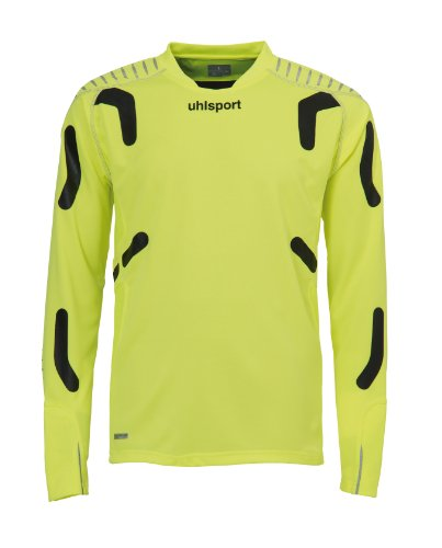 uhlsport Torwarttech Shirt LA, fluogelb/schwarz, M, 100557402 (Neue Herren Union-anzug)