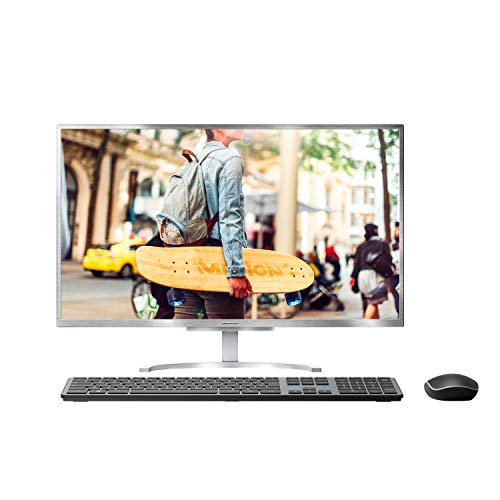 MEDION E23401 60,5 cm (23,8 Zoll) Full HD All in One Desktop Computer (Intel Core i5-8250U, 8GB DDR4 RAM, 1TB HDD, 256GB PCIe SSD, WLAN, Webcam, Win 10) (Einem In Desktop-computer)