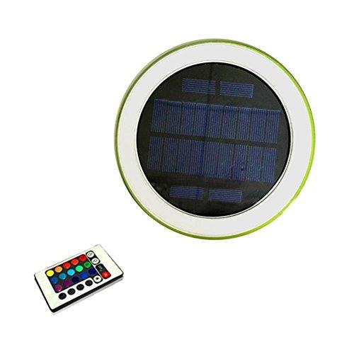 Wetour LED Solar Schwimmende Pool Licht, IP68 Wasserdicht Outdoor Schwimmbad Licht Für Teichbeleuchtung, Pool Dekoration, Park Wasserfall