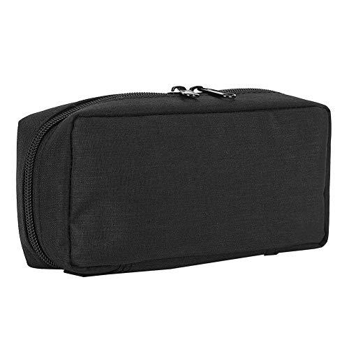 41caXg4VFoL - Bolso del refrigerador de la insulina, caja de enfriamiento de la bolsa del organizador médico portátil del protector del aislamiento(Negro)