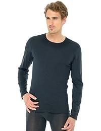 Schiesser langarm T-Shirt anthrazit 135977