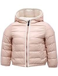 MONCLER 8458Y Piumino Bimba Girl Powder Pink Light Jacket