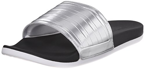 Adidas Performance Adilette Sc + Silver CW Sandal Black/Metallic Silver/White
