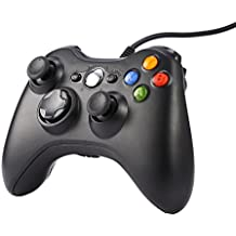 Gamepad, Controlador de Gamepad, ICOCO Xbox 360 Controlador común para Windows XP/7/8/10,Android (TV box / smartphone / tablet) y PS3