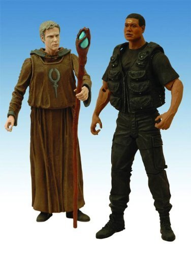 Stargate SG-1 Season 10 Daniel and Tealc Action Figure, Two-Pack by Diamond Select Toys TOY (English Manual), Figurines
