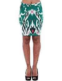 Vero Moda Skirt Women Green 10193728 VMMARRRAKECH N/W Short Skirt EXP Snow White/Green