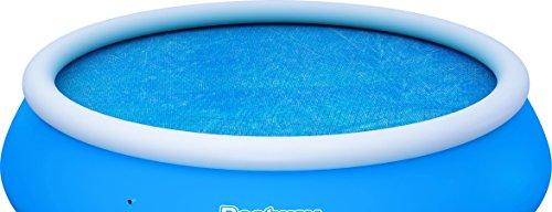 Bestway Solarabdeckplane Ø3 m für Fast Set Pool, Ø366 cm